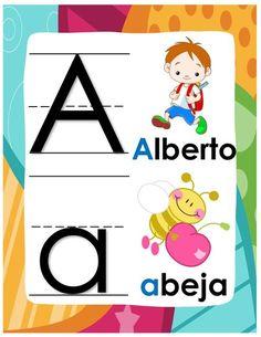 Precioso abecedario con la temática de modo: Búhos