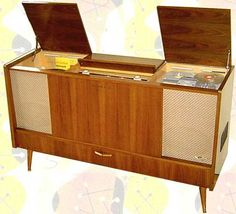 Grundig Console Stereo (circa 1959) - Mid Century tube sound at its finest!