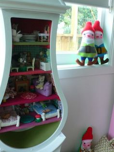 DIY-From Clock to Dollhouse
