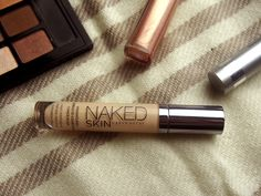 Urban Decay Naked Skin Concealer, No press samples featured. I don't know why I'm not content with my Collection concealer. It's a ten out of ten, but the fact that it's so great and so cheap . Concealer, Primers, All About Eyes, Urban Decay, Shadows, Mascara, The Balm, Irish, Naked
