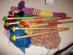 Handmade knitting needles