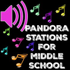 Mskcpotter: Pandora Stations for the middle school classroom