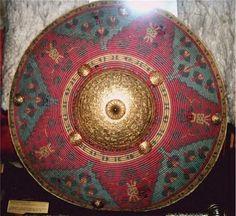 Ottoman Khalkhan shield - maybe smashed Mongolian - Khakhan and Ottoman (?)
