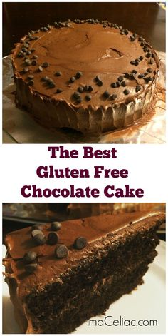 This made from scratch chocolate cake recipe will replace your Gluten Free box mix