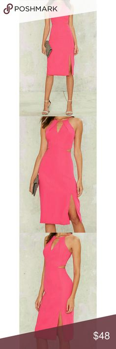 🆕 Neon Pink Midi Dress This beautiful striking neon pink dress features a midi length and fitted silhouette. Perfect for ensuring all eyes are on you! 💋💕  *Adjustable strap  *Cut-out at front  *Lined  *Content  100% Polyetser  *Dry clean only  *Imported  - No Trades! 🚫 - Offers Welcomed! 🤗 - HaPpY PoShInG! 😘❤ Ark & Co Dresses Midi