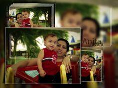 Puerto Rico, mi sobrino y cuañada.