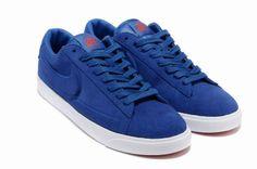 size 40 1976d 7061c Blue Nike Blazers