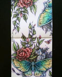 Instagram media hadar_dar - My first page from #podrugiejstroniesnu . Coloring…
