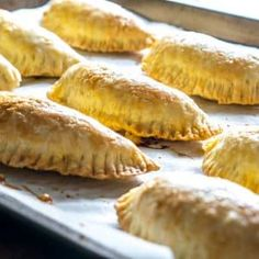 Flaky, tender dough make these empanadas a recipe worth repeating. We& using a delicious spicy beef mixture to kick them up a notch. Mexican Dishes, Mexican Food Recipes, Beef Recipes, Cooking Recipes, Recipies, Spanish Dishes, Beef Tips, Sweets Recipes, Quesadillas