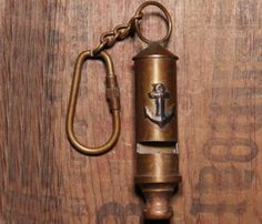 Marine Anchor Key Chain by We Are All Smith ($32)