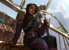 Magic The Gathering: Kari Zev, Skyship Raider, Brad Rigney on ArtStation at https://www.artstation.com/artwork/n8A0K?utm_campaign=digest&utm_medium=email&utm_source=email_digest_mailer
