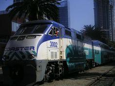 Coaster train Carlsbad to San Diego