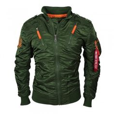 ALPHA Industries Falcon II Fliegerjacke dark green