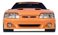 Ford Mustang 87-93 Stalker Front Bumper - Urethane Curvins http://www.latemodelrestoration.com