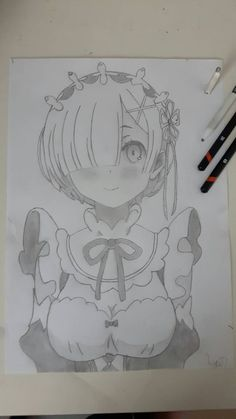 Que buen dibujo? Anime Drawings Sketches, Anime Sketch, Pencil Drawings, Amazing Drawings, Cute Drawings, Manga Anime, Anime Art, I Love Anime, Drawing Reference