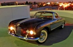 1953 Ghia Cadillac  Belonged to Rita Hayworth.  Photo pinned from Hemmings