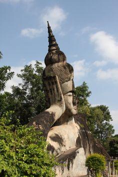 Buddha Park in LAOS und andere Plätze, die du nicht verpassen solltest in Vientiane, Laos