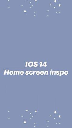 IOS 14 Home screen inspo