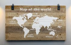 South America, Africa, Map, World, Home Decor, Decoration Home, Room Decor, Location Map, Maps