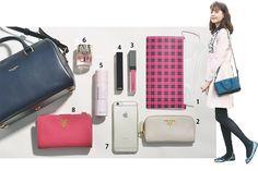 トリンドル玲奈はバッグの中身も可愛いんです♡|NET ViVi|講談社『ViVi』オフィシャルサイト
