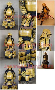 Reproduction of Japanese Suaka Nuri Samurai Armor