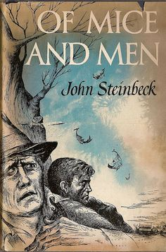 """His ear heard more than what was said to him, and his slow speech had overtones not of thought, but of understanding beyond thought."" — John Steinbeck, Of Mice and Men I Love Books, Great Books, Books To Read, My Books, Reading Lists, Book Lists, Reading Rainbow, Of Mice And Men, English"
