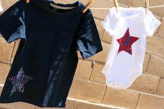 salpicaduras de pintura camisetas patrióticas