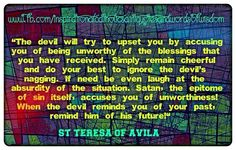 Teresa of Avila St Theresa Of Avila, Spiritual Formation, Inspirational Verses, Saint Quotes, Here On Earth, Pray For Us, Do Your Best, Inspire Others, God Is Good