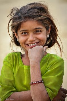desert smile from Rajasthan India