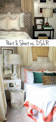Point & Shoot vs. DSLR