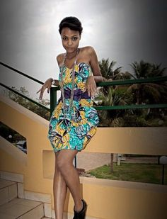 robe wax  Pagnifik  Vetements Pagnes ou Wax africain  Pinterest ...