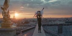 #imagine that #freedom to loose the fear.  Benjamin Millepied gives us a gorgeous choreographed fantasy.