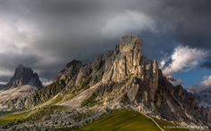 Passo Giau with dramatic clouds by Hans Kruse on 500px