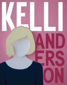 Rough Draft of my book cover for Kelli Anderson. I was able to construct the cutout for Kelli's silhouette. However, I still need to execute the dots on her shirt, which I wanted to do on illustrator to bring together the paper and the graphic design aspect. Also still playing around with the colors of the text. Still need to figure out where I'll put the mandatory publishing company or book series name (on requirements.)
