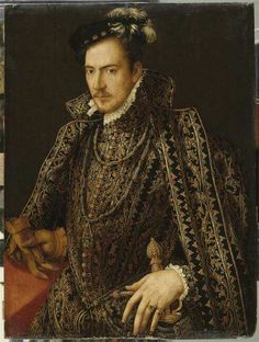 "Hercule François Duke of Alençon. Also Duke of Anjou from 1576. Queen Elizabeth's ""Frog""!"