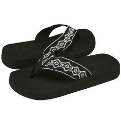 Reef Flip Flops - most comfortable flip flops ever...and they last a long time.