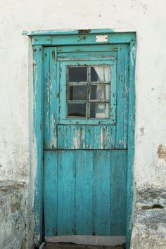 Brightly coloured doorway of old fisherman's cottage in Arniston, South Africa. Fishermans Cottage, Old Fisherman, Driftwood Art, South Africa, Doors, Gate