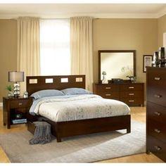 Bedroom set.