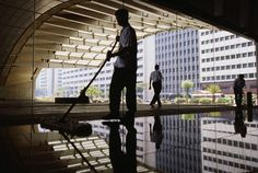 Analyze the services of office cleaners before hiring them