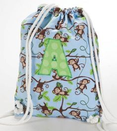 Jo-Ann Cinch Sack, looks like a quick and easy protect for Natalie to make..