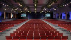 Visual Eyes Media | Queens Ballroom & Ice Rink, Bayswater  #Conference #CGI #Visualisation