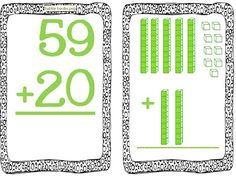 Two Digit Addition with regrouping and Limited Time Freebie as seen on First Grade Faculty http://www.firstgradefaculty.com/