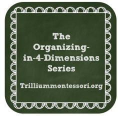 Organizing a Montessori Classroom (First post in the series: Record Keeping)