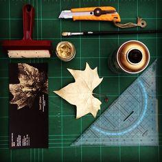 work hard for wine design #wine #art #stamp #leaf #gold #label #packaging #graphicdesign #diy