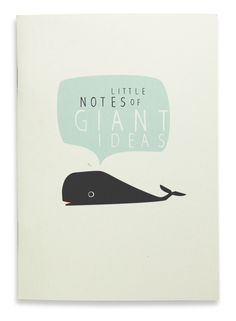 Write down your giant ideas before they disappear into an ocean of thoughts....