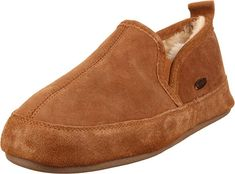21f8574b8a9 ACORN Men s Romeo II Slipper Acorn s genuine sheepskin in it s Acorn Romeo  II Men is ideal for cold weather. Set in a luxurious and warm double-face  ...