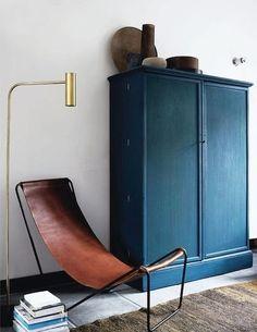 インディゴブルーな部屋