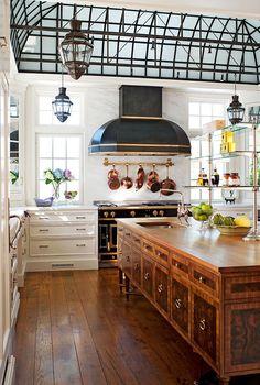 Cozinha bem iluminada | Casamenteiras