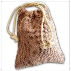 Cheap burlap favor bags