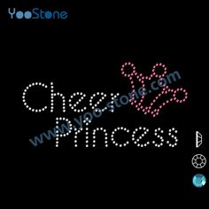 Find More Rhinestones Information about China Distributors Free Shipping 20 pieces/lot Cheer Princess Rhinestone Applique For DIY t Shirt,High Quality applique flower,China applique beaded Suppliers, Cheap applique t-shirt